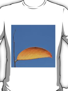 Golden Leaf - Simplistic Natural Beauty T-Shirt