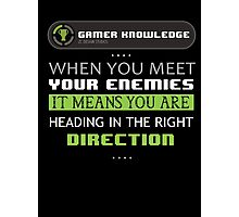 GAMER KNOWLEDGE #1 Photographic Print