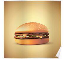 Cheeze!!! Burger Poster