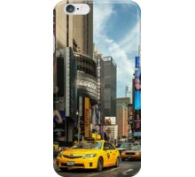 Yellow Taxi Times Square New York iPhone Case/Skin