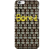 Sherlock BORED iPhone Case/Skin