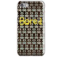 Sherlock BORED iPhone Case/Skin