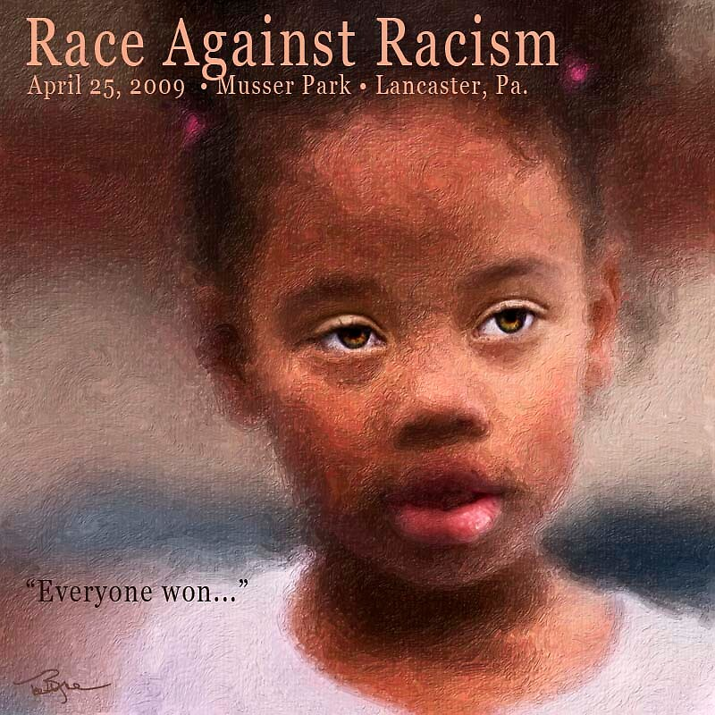 Against Racism.... by Ted Byrne