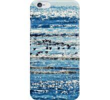 sea stripes iPhone Case/Skin