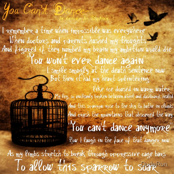 You Can't Dance by DudeRun