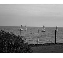 Lake Michigan, from Northwestern Univ. Evanston, IL Photographic Print