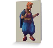 Tasqara - a thieving dwarrowdam Greeting Card