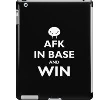 Abathur AFK and win - white iPad Case/Skin