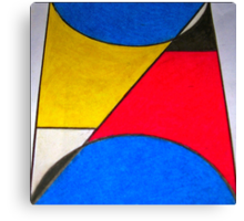 *PRIMARY ABSTRACT* Canvas Print