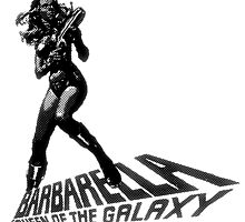 Barbarella b&w by doghouseart