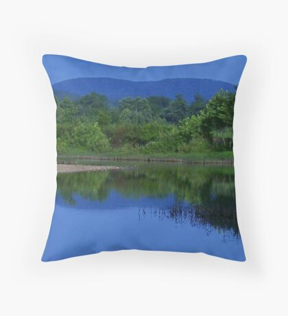 Dark Thirty On The River Throw Pillow