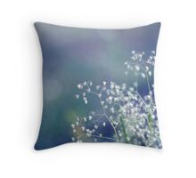 Softly. Delicately.  Throw Pillow