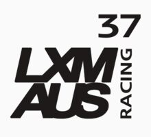 LXM Australia Racing #37 - Black Kids Tee