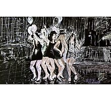 Dancing Girls Photographic Print