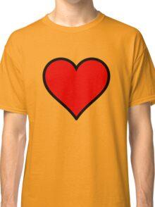 Love Heart Classic T-Shirt