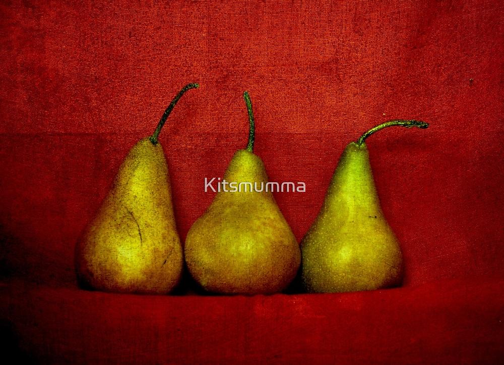 The Three Pears by Kitsmumma