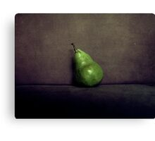 A Single Pear Canvas Print