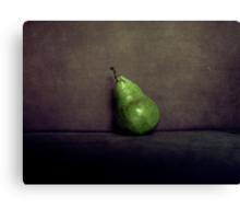 A Single Pear Canvas Print