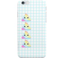 I POOP RAINBOW iPhone Case/Skin