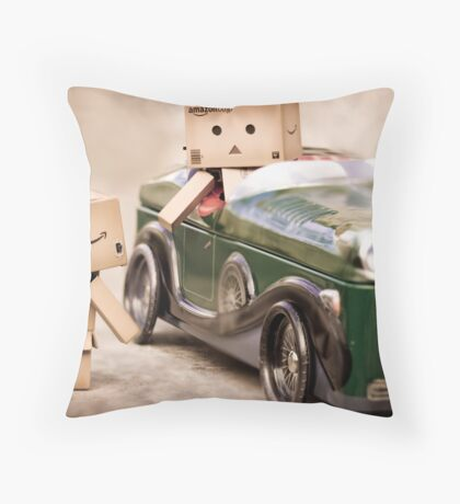 need a ride mate? Throw Pillow