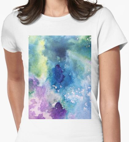 Sky Ink Womens Fitted T-Shirt