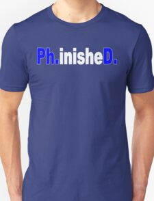 Phinished funny geek nerd T-Shirt