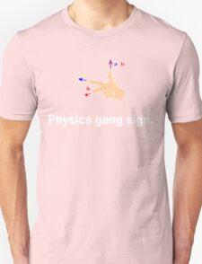 Physics gang sign funny geek nerd T-Shirt