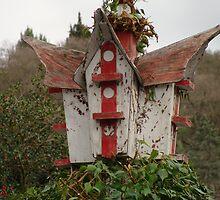 Old Bird House by Linda Scott