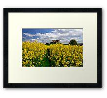 Duffus Castle Framed Print