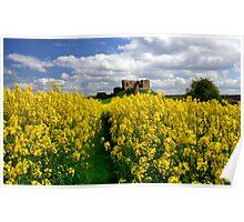 Duffus Castle Poster