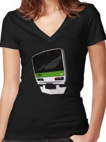 Yamanote All City Women's Fitted V-Neck T-Shirt