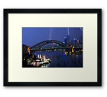 Bright Spark - Sydney Harbour 02/05/09 Framed Print