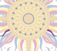 Boho sun Sticker