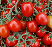 Red Tomatoes Minus One by Ralph Angelillo