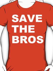 Save the bros organic funny geek nerd T-Shirt