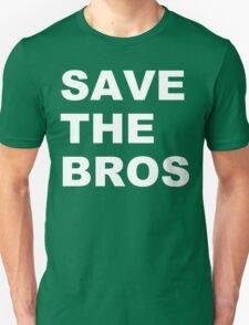 Save the bros organic funny geek nerd T-Shirt