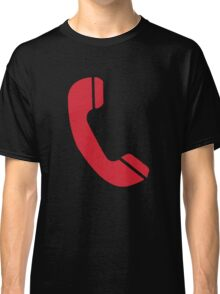 Red Telephone Classic T-Shirt