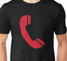 Red Telephone Unisex T-Shirt