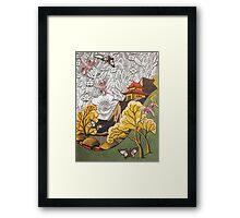 Japanesey Framed Print