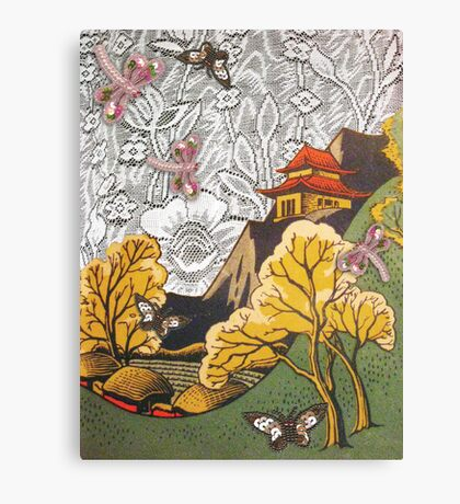 Japanesey Canvas Print