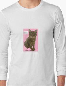 Philosopher Tabs Long Sleeve T-Shirt