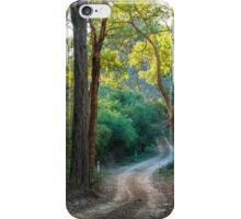 Evening on the Lane iPhone Case/Skin