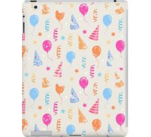 Happy birthday,festive pattern  iPad Case/Skin