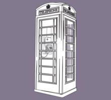British Public Telephone Box Kids Tee