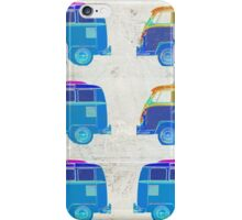 Pop Art VW Surfer Bus iPhone Case/Skin