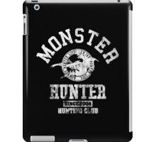 Monster Hunter - Hunting Club (light effect) iPad Case/Skin