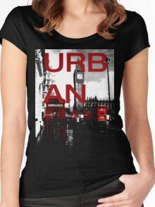 bonkers - Urban London 2 Women's Fitted Scoop T-Shirt