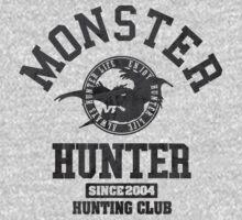 Monster Hunter - Hunting Club (dark effect) T-Shirt