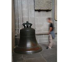 Carcassonne bell Photographic Print
