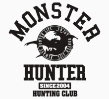 Monster Hunter - Hunting Club (black) by riccardo08